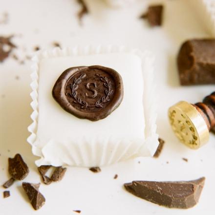 chocolate seal monogram