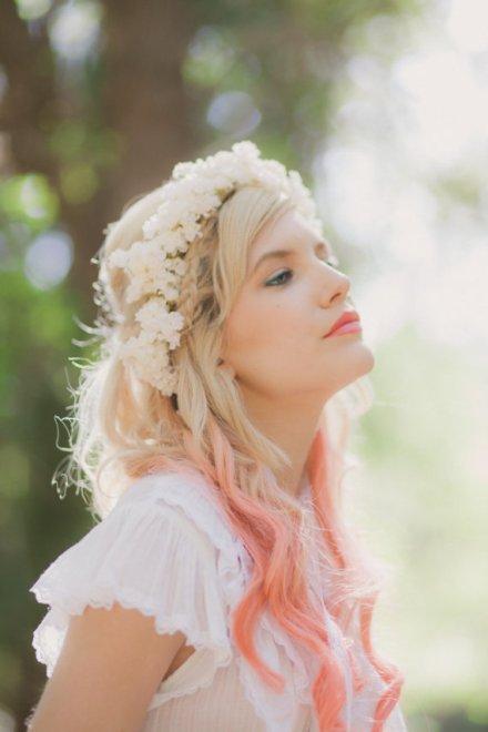 flower crown hair band