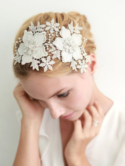 lace hair band