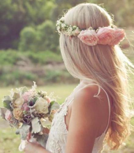 bridal floral crown 11