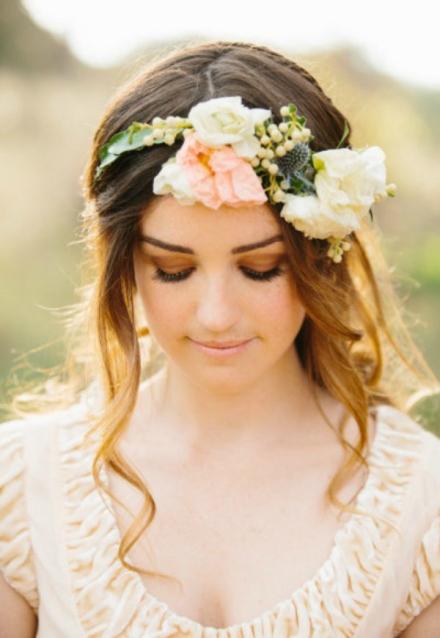 bridal floral crown 12