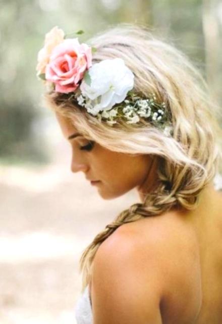 bridal floral crown 1