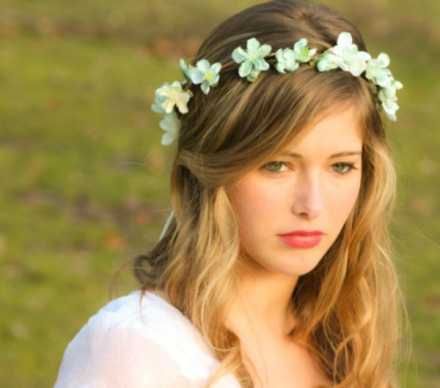 bridal floral crown 15