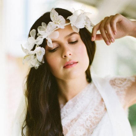 bridal floral crown 19