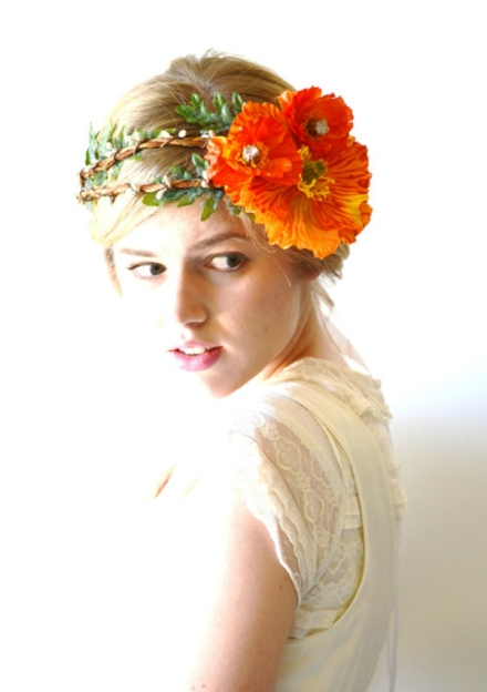 bridal floral crown 20
