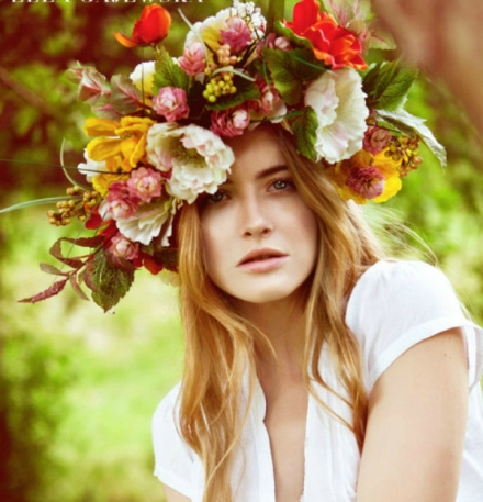 bridal floral crown 21