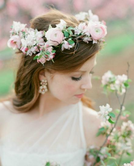 bridal floral crown 2