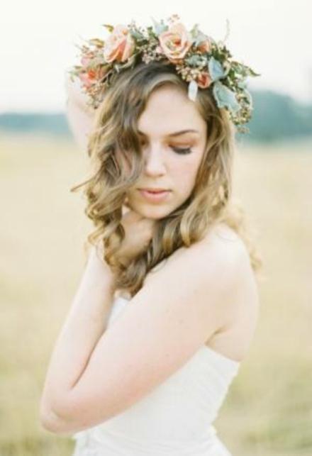 bridal floral crown 3