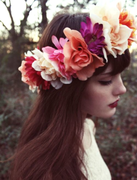 bridal floral crown 7
