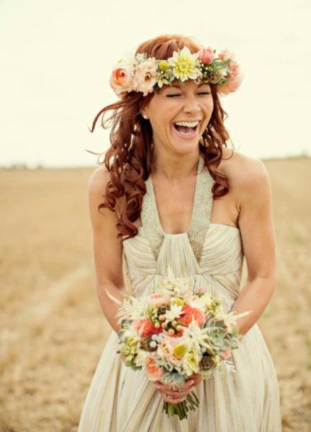 bridal floral crown 8