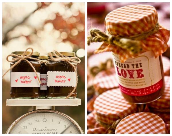 edible fall wedding favors to love weddings handmade