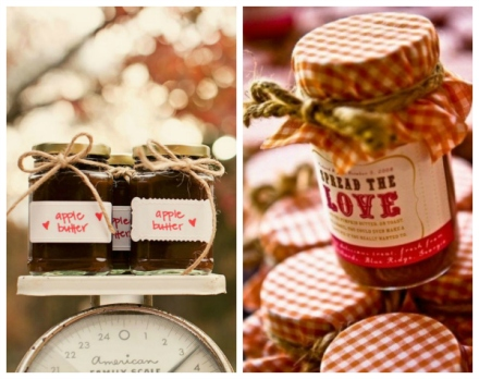 fruit preserve fall favors