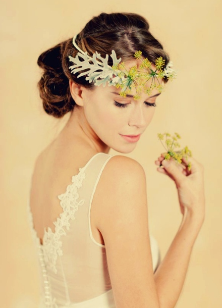 leaf bridal crown 3