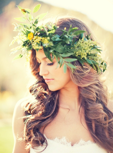 leaf bridal crown 4