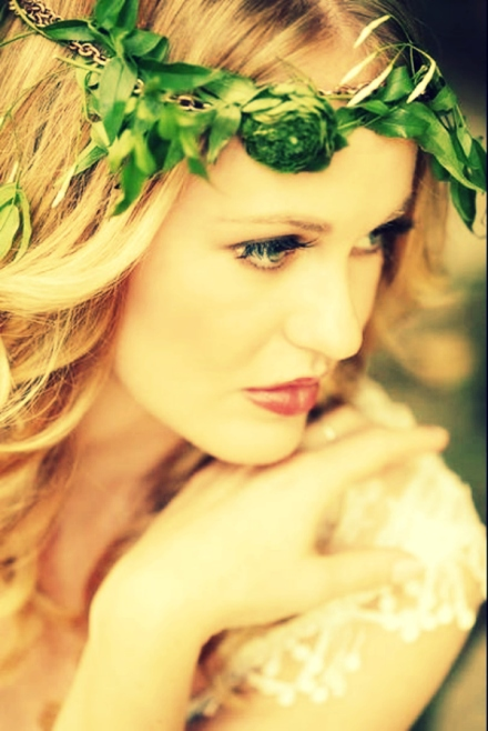 leaf bridal crown 5