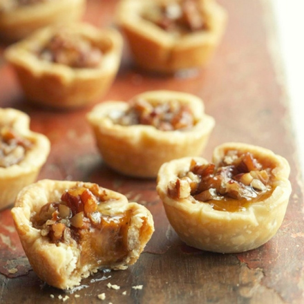 pumpkin pecan tassies