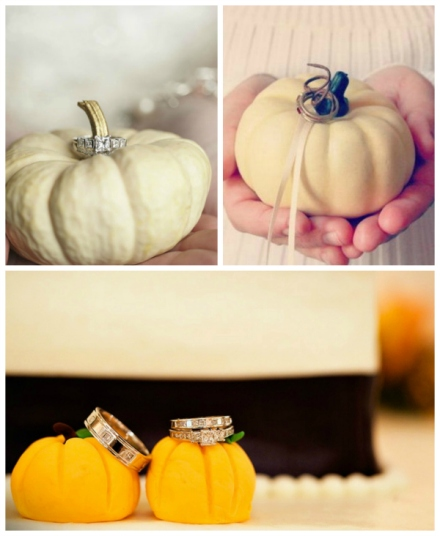 pumpkin ring bearer