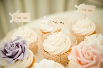 pumpkin wedding cupcakes