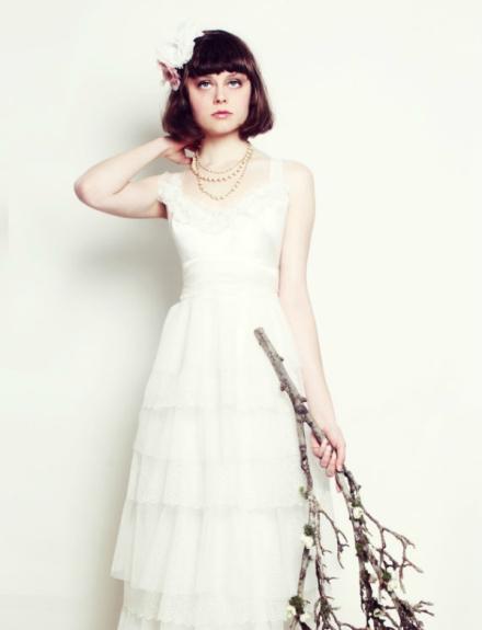 ruffled wedding dress 2