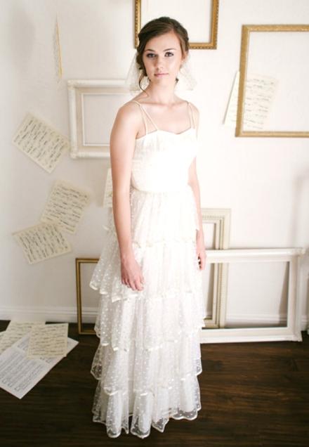 ruffled wedding dress 5