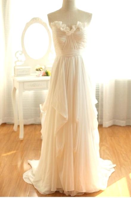 ruffled wedding dress 6