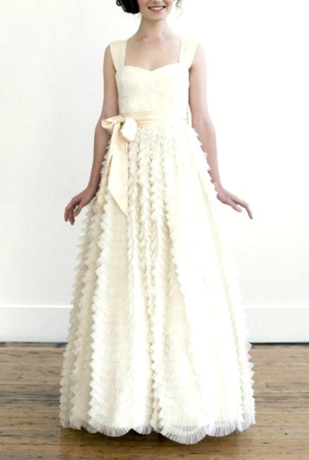 ruffled wedding dress 7