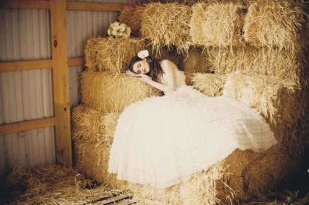 ruffled wedding dress 8