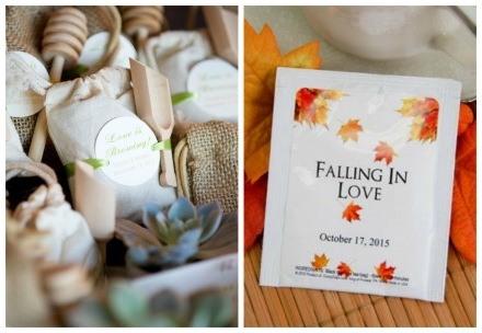 tea and coffee wedding favor