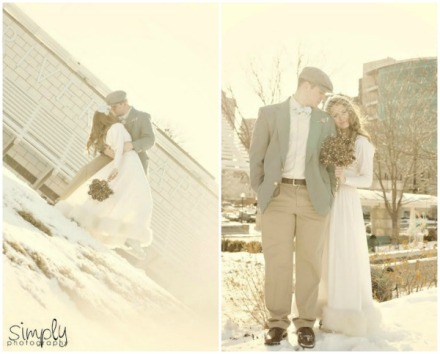 winter wedding shoot 2