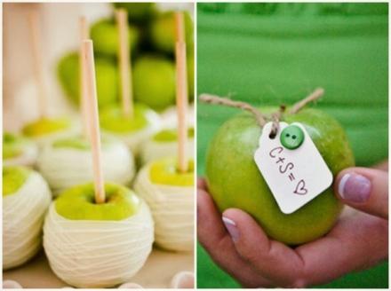 apple green wedding 6