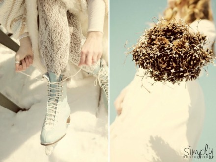 winter wedding shoot 7