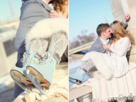 winter wedding shoot 5
