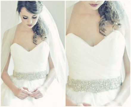 Enchanted Atelier fall winter 2013 sash and veil