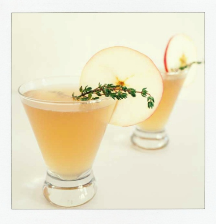 Sparkling Apple Rum Punch