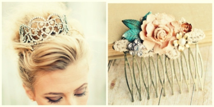 vintage bridal head pieces 5