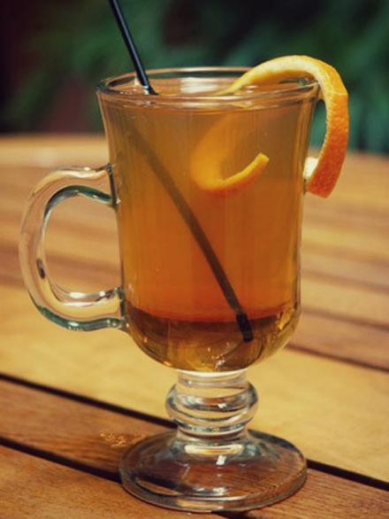 Honey Orange Hot Toddy